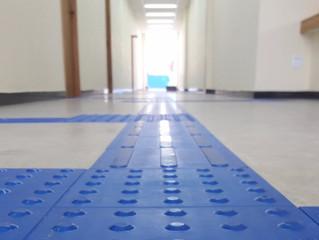Como fazer a paginação correta do piso tátil em rotas acessíveis. Parte 2