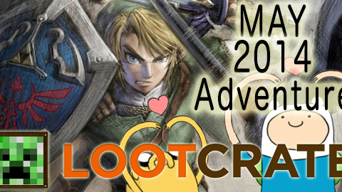 May 2014 Loot Crate Review: Adventure!