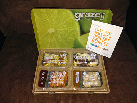 Graze Box Unboxing ; April 2014