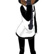 Winter Panda Girl