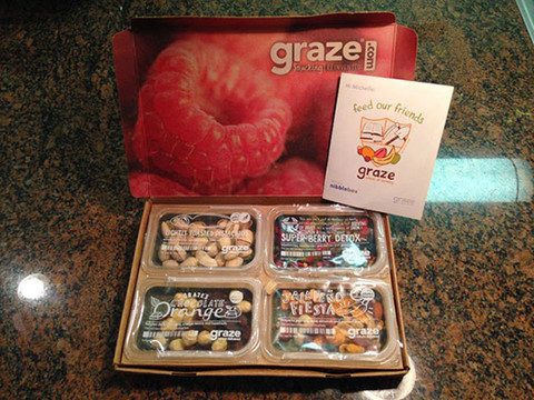 Graze Box Unboxing ; March 2014