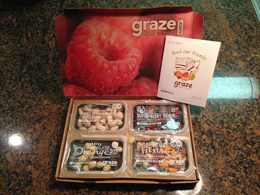 Graze Box Unboxing ; March 2014