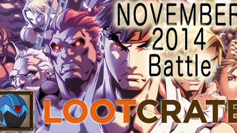 November 2014 Loot Crate Review: BATTLE!