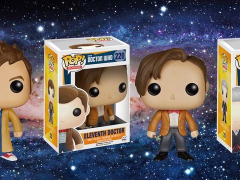 Doctor Who NEW Funko POP Vinyl Figures!!!!