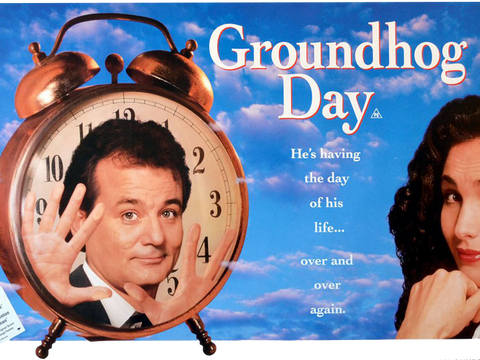 Just How Many Days Does Bill Murray REALLY Spend Stuck Reliving GROUNDHOG DAY?