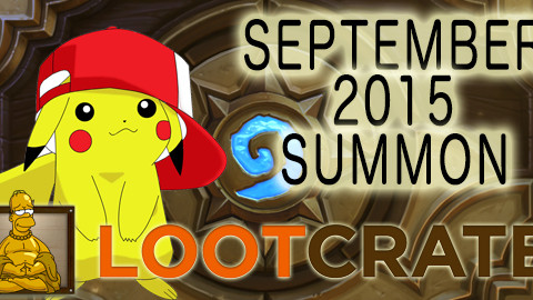 September 2015 Loot Crate Review: SUMMON!