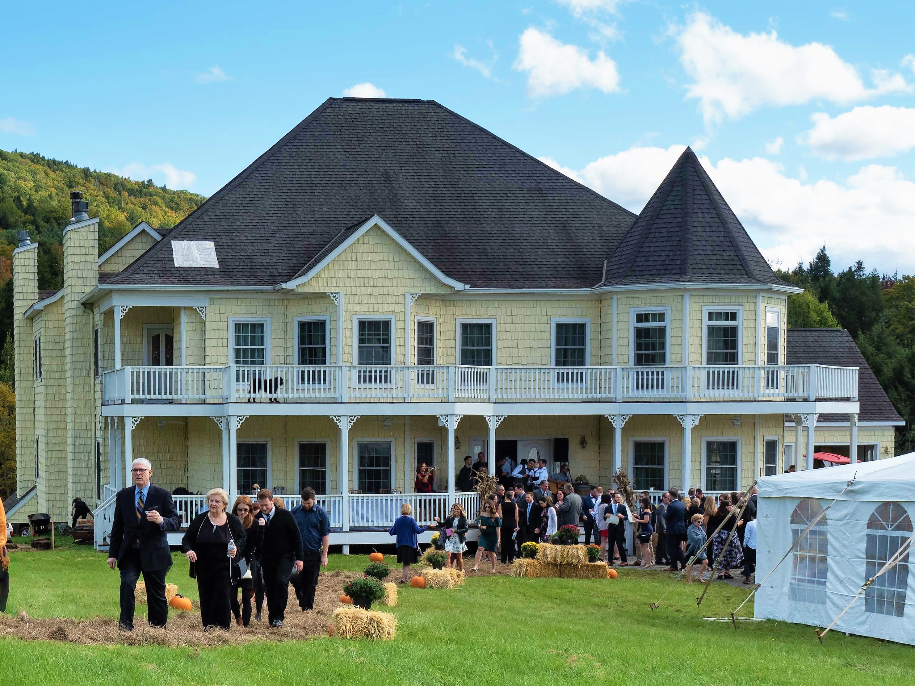 Windham Manor's Inaugural Wedding