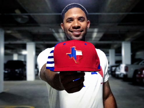 15.  Texas Rangers Player Hat.jpg