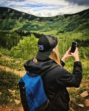 18.  Taking picture on hike.jpg