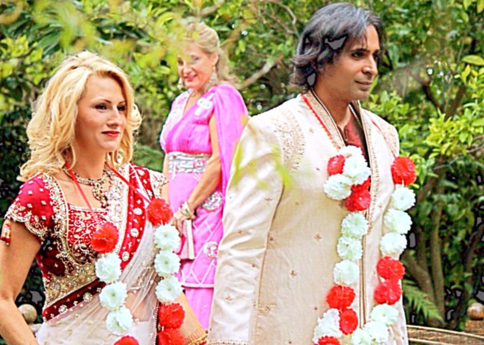 with my husband Riz Mirza