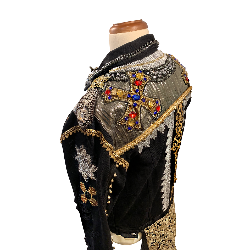 FINAL Maluma jacket SACRED MEDICINE side