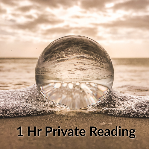 1 hr Private Reading
