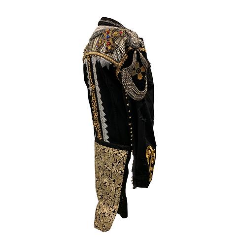 Maluma jacket SACRED MEDICINE side back3