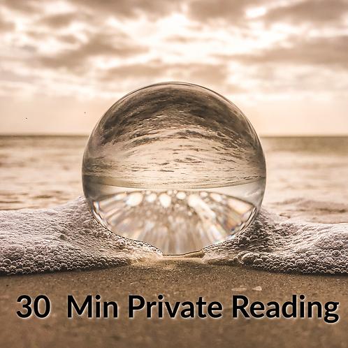 30 min Private Reading