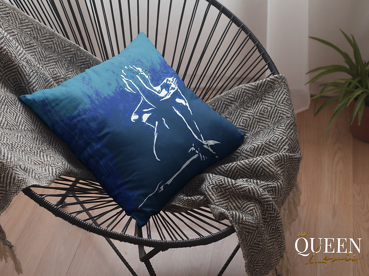 Her Kept Essence - Faux Suede Square Pillow