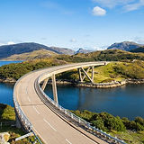Kylesku-Bridge-blue-sky-hills-Scotland_.