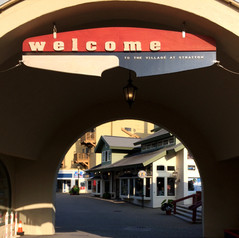 The Welcome Sign at Stratton Mountain Resort
