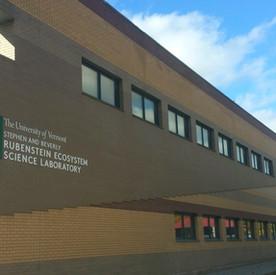 UVM Rubenstein Ecosystem Science Laboratory Sign