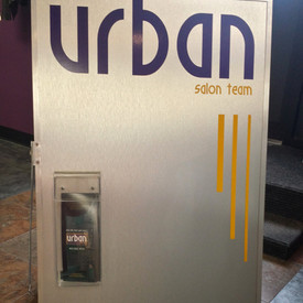 Urban Salon Sandwich board