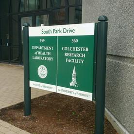 Colchester Business Park UVM sign
