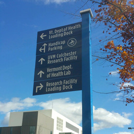 Colchester Business Park wayfinding for