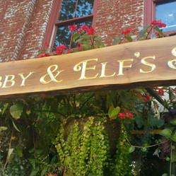 Zabby & Elf's Stone Soup signs