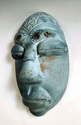 Ancient Stone Mask Artifact