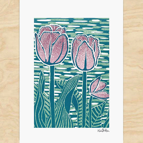 Tulips Cards (6)