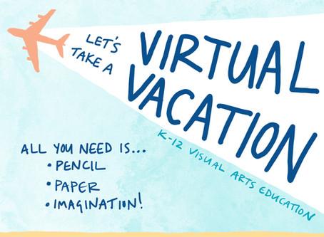 Virtual Vacation: Free Art Curriculum!
