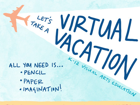 Virtual Vacation: Free Art Curriculum!