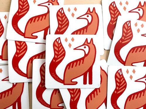 Fox Stickers (10)