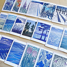Greeting Cards available for wholesale purchase by Minnesota artist Nan Onkka