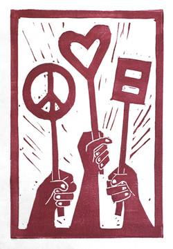 Peace, Love, Equality