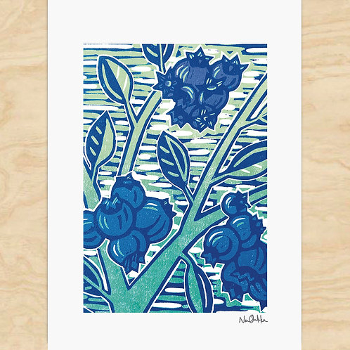Blueberries Cards (6)