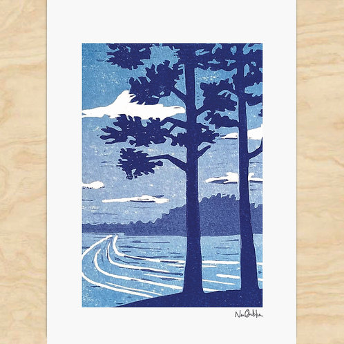 Through The Pines Cards (6)