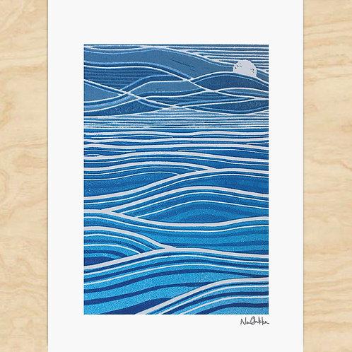 Waves Card (6)