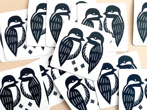Chickadee Stickers (10)
