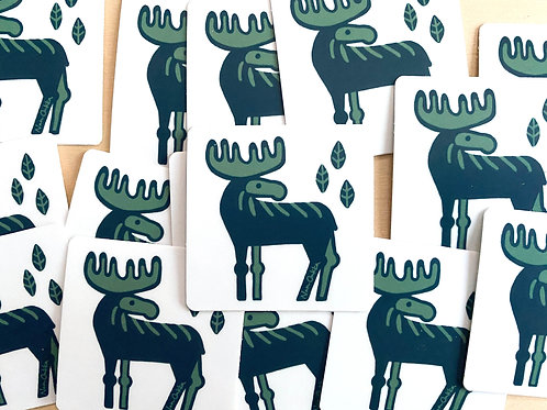 Moose Stickers (10)