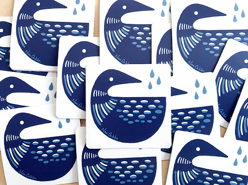 Loon Stickers (10)