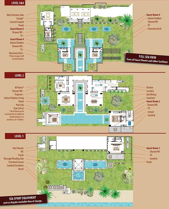 Sangsuri Villa 3 Floorplan