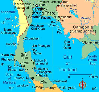 Sangsuri Thailand Map