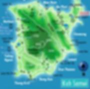 Koh Samui Map Sanguri
