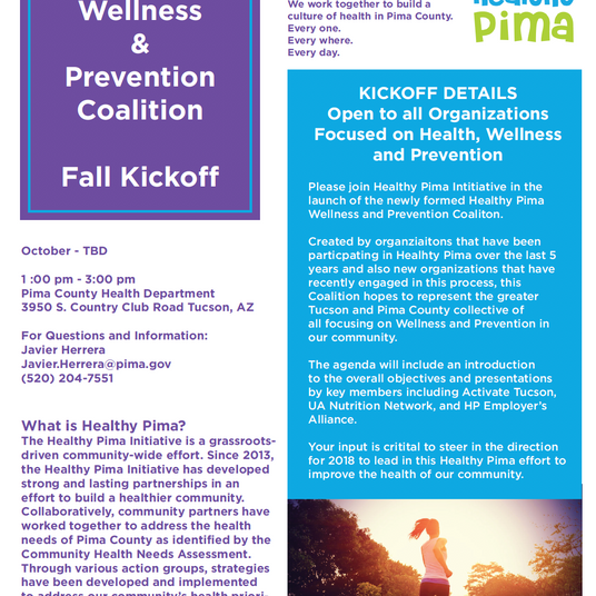 Wellness and Prevention Coalition