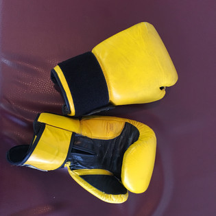 Cool Yellow Gloves