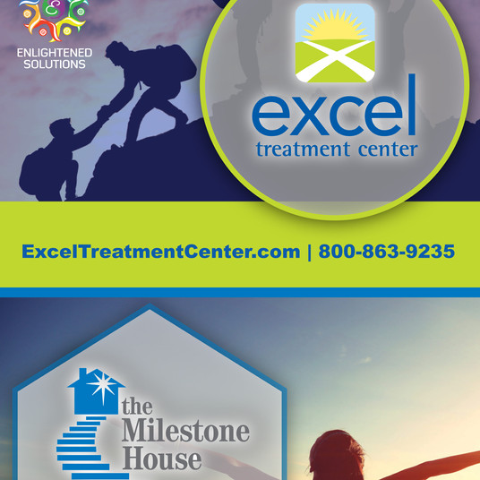 Excel and Milestone Combined Advertisement