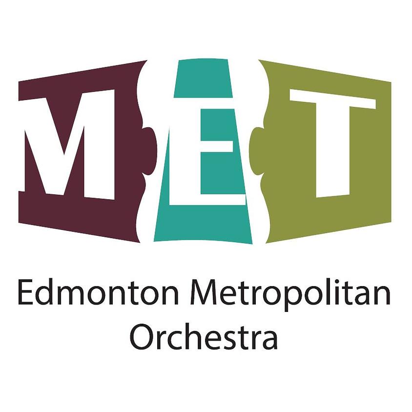 Season Tickets- Edmonton Metropolitan Orchestra 2019-2020