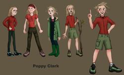 Poppy Clark character design