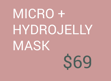 Autumn Skin Revival: Microdermabrasion + HYDROJELLY™ Mask