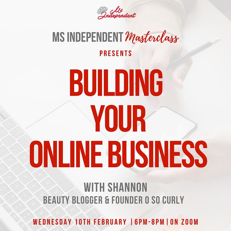 Building an Online Business