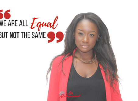 We are all equal but not the same